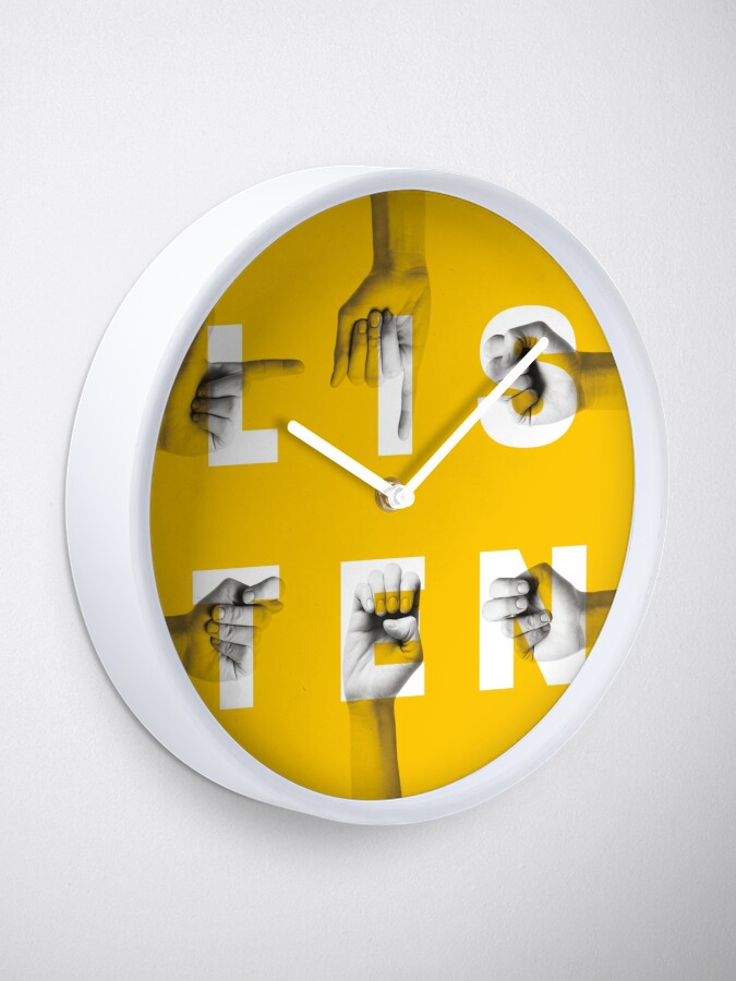 Alternate view of be inclusive Clock