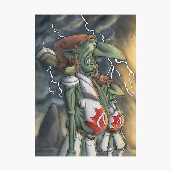 Goblins Fotodruck