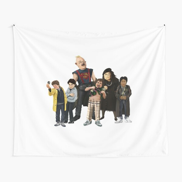 main Characters from The Goonies Tapestry