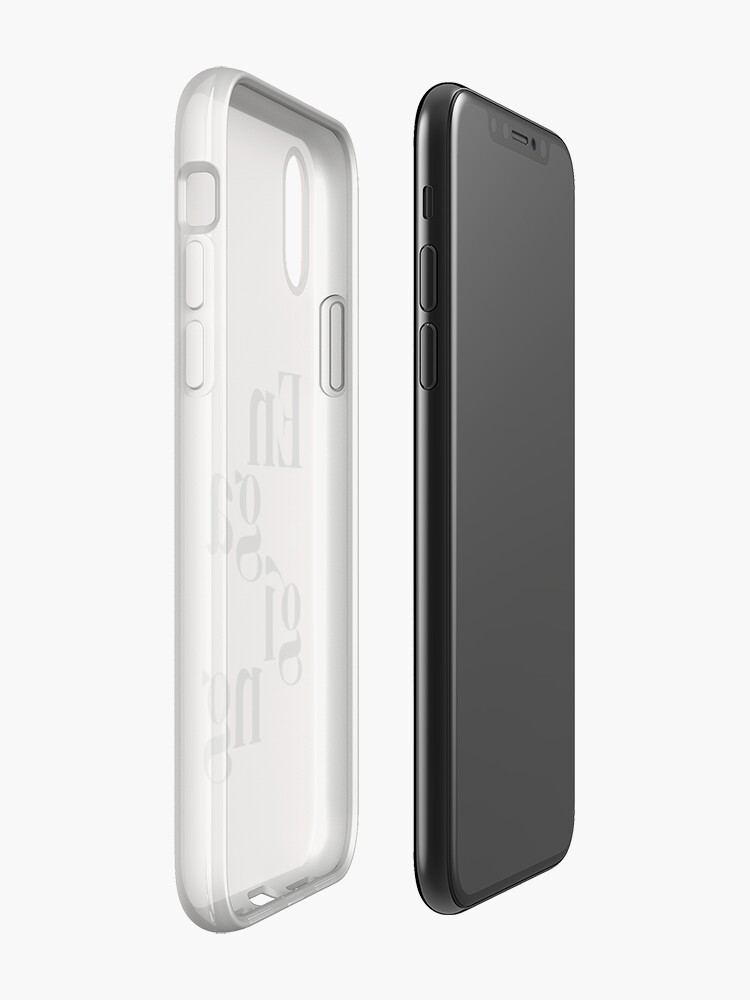 Alternate view of be engaging iPhone Case & Cover