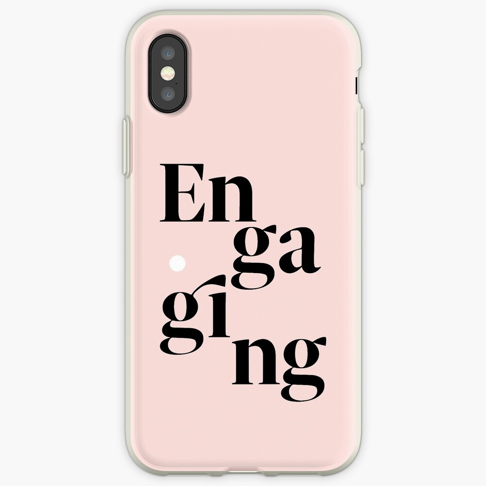 be engaging iPhone Case & Cover