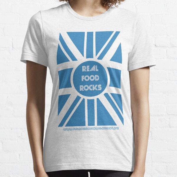 Rock n' Roll #RealFoodRocks Essential T-Shirt
