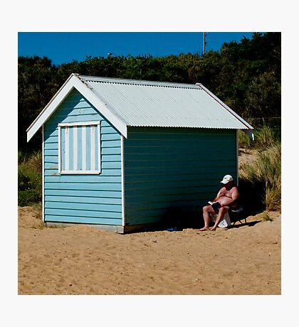 The active life of an Aussie Bloke Photographic Print