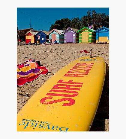 The Brighton Boatsheds - an Aussie icon #2 Photographic Print