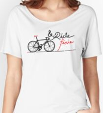 ride fixie Women's Relaxed Fit T-Shirt