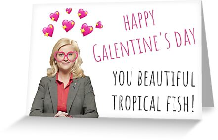 Parks and Rec, Leslie Knope, Galentines day, Quote, Gifts, Presents, Sticker packs, Cool cards, Comedy, Parody, Humor, Puns, Banter