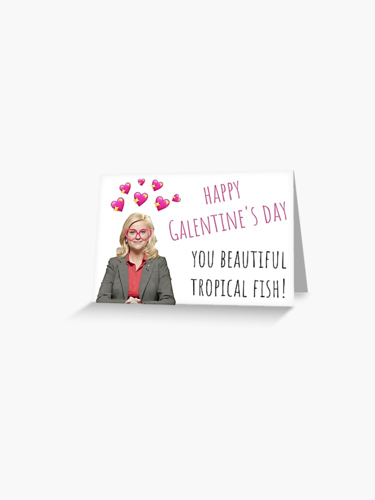 Home Furniture Diy Valentines Day Leslie Knope Parks And Recreation Happy Galentine S Day Card Cards Stationery Mantys Com Br