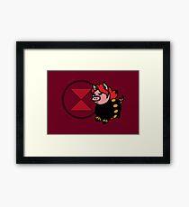 Pink Widow Framed Print