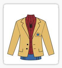 Spidey Uniform Sticker