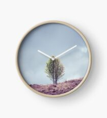 Alone in the Heather (Cat Burton Photography) Clock