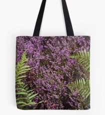 Heather and Fern (Cat Burton Photography) Tote Bag