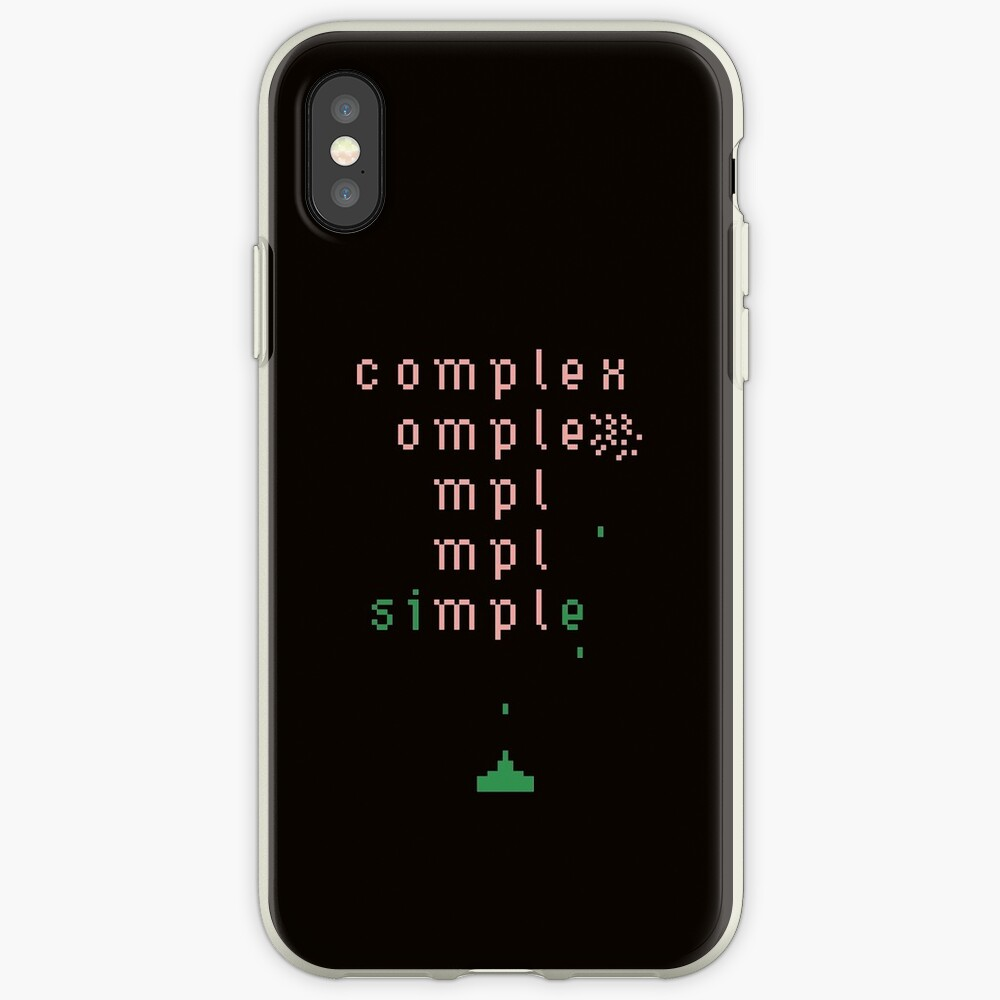 keep it simple  iPhone Case & Cover