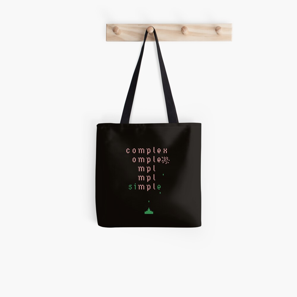 keep it simple  Tote Bag