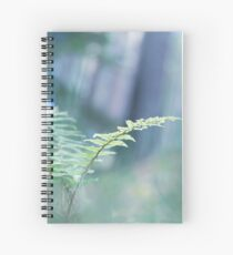 Ferns and Daydreams (Cat Burton Photography) Spiral Notebook