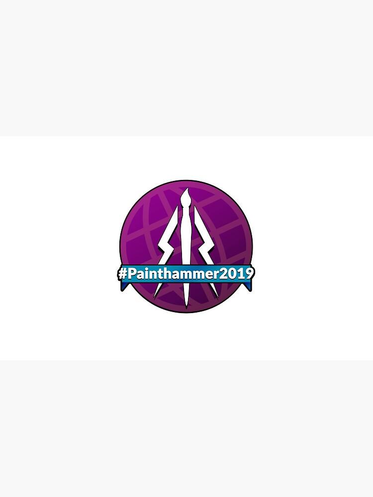 Painthammer 2019 Logo by JewelKnightJess