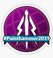 Painthammer 2019 Logo Sticker
