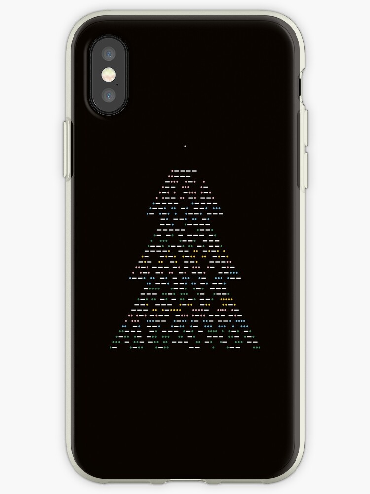 christmas tree 2018 black by tothepoint