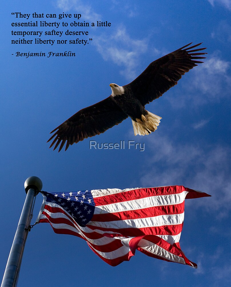 Freedom is Precious by Russell Fry