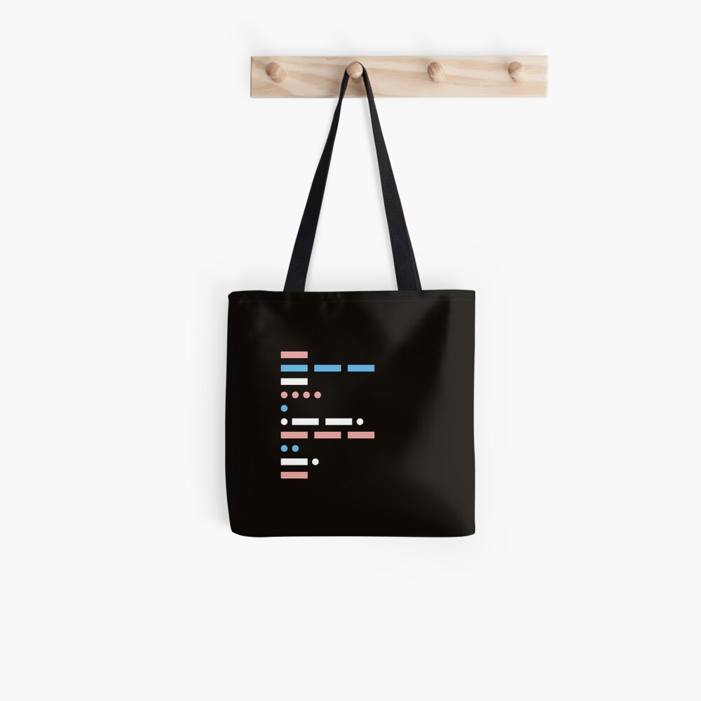 morse code - communication in its simplest form Tote Bag