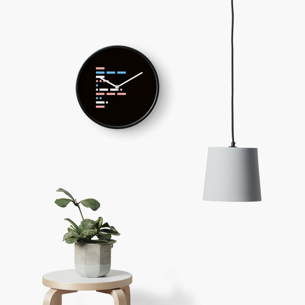 morse code - communication in its simplest form Clock