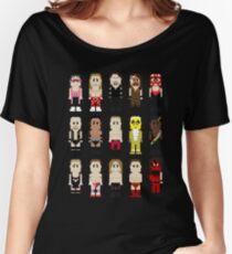8-Bit Wrestlers '97! Women's Relaxed Fit T-Shirt