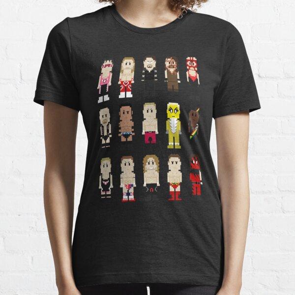 8-Bit Wrestlers '97! Essential T-Shirt
