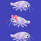Ribbon giant isopod by pikaole