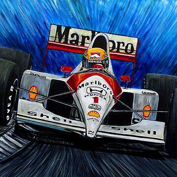 Ayrton Senna World Champion de JosefMendez