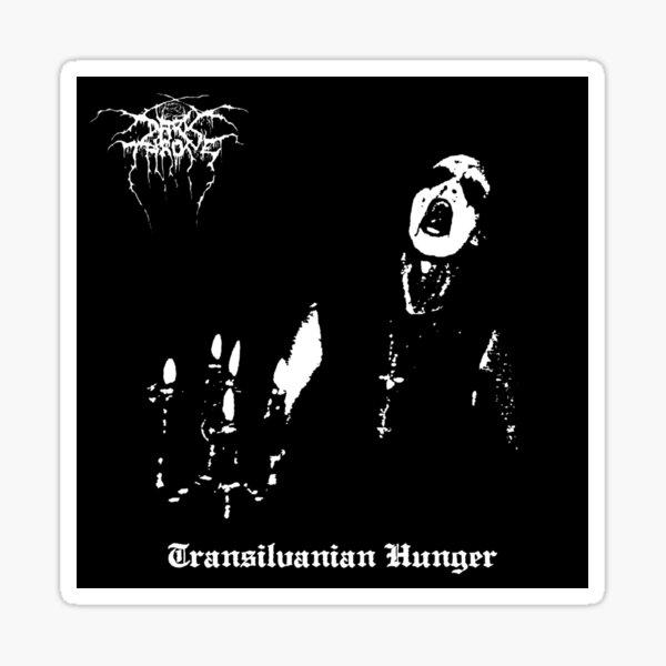 Darkthrone Black Metal Fenriz Transilvanian Hunger Album Sticker
