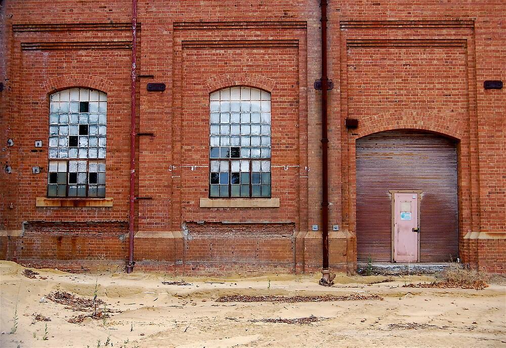 windows 4, 5, door by Naia