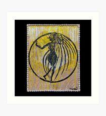 Oxum, Orixa of rivers and sensuality Art Print