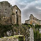 Chepstow Castle by Amber D Meredith Photography
