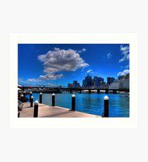 Darling Harbour, Sydney (II) Art Print