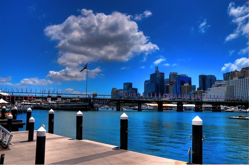 Darling Harbour, Sydney (II) by Ben McCarthy