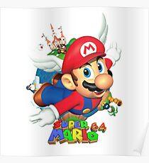 Super Mario World 64 Poster