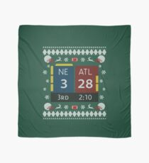 28-3 Historic Comeback New England Patriots Christmas Ugly Sweaters, Tom Brady - TB12 Shirts, Mugs, Phone Cases, Pillows & Greeting cards! Scarf