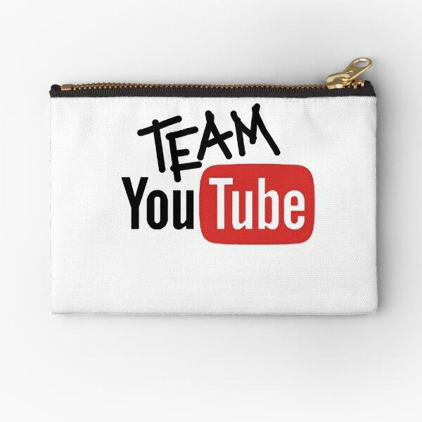 Team YouTube Zipper Pouch
