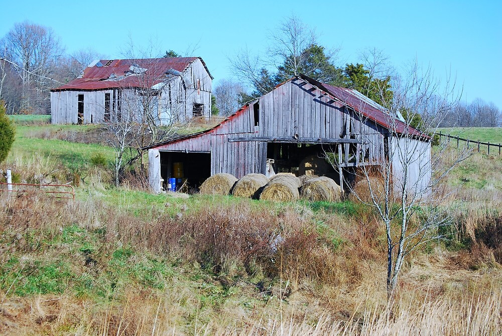Barn Off The Highway by Geezer94