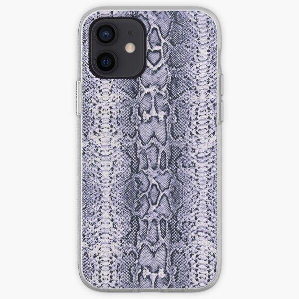 Purple SnakeSkin Animal Print iPhone Soft Case