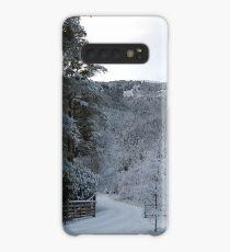Snowy track Case/Skin for Samsung Galaxy
