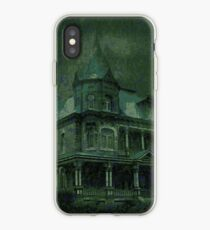 Haunted House - green iPhone Case