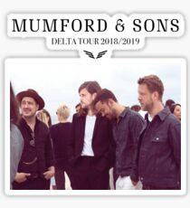 Mumford and Sons Sticker