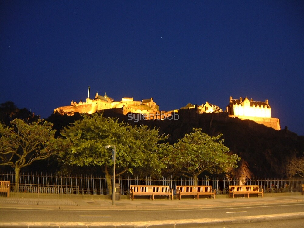 Edinburgh Castle By Night by sylentbob