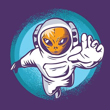 Alien Astronaut Aerobatics by Matucho