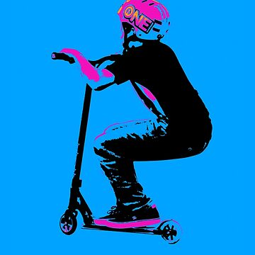 Scooter Cruiser - Scooter Boy by NaturePrints