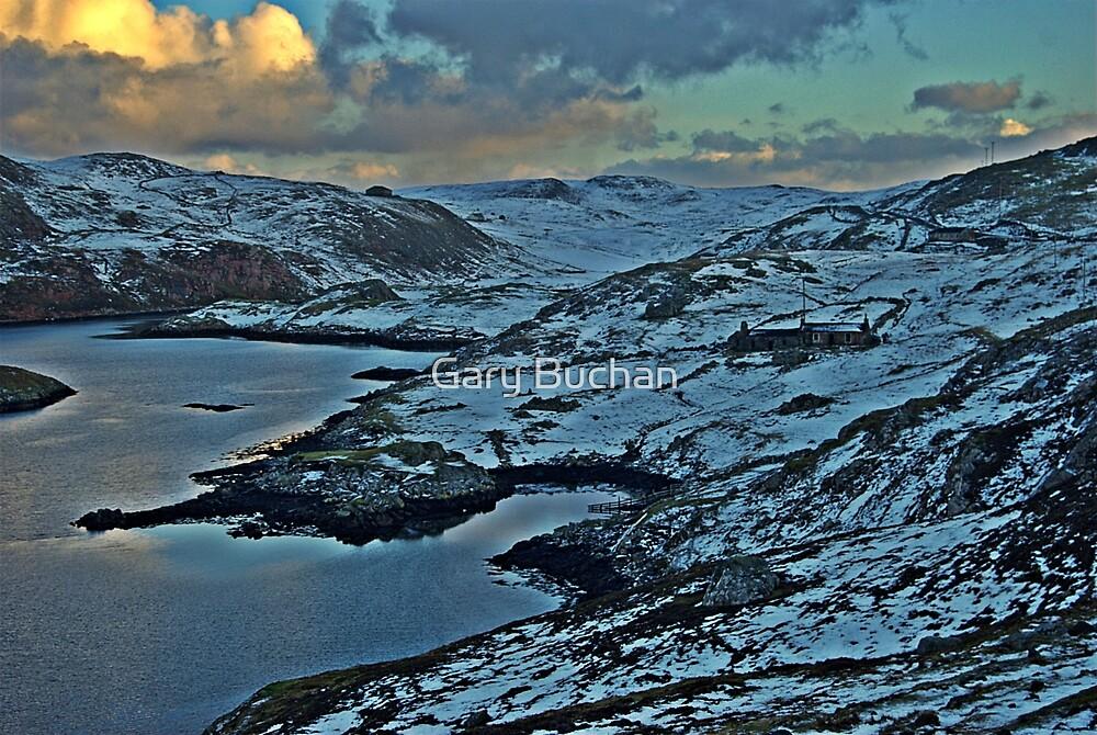 Gunnister,Northmavine,Shetland. by Gary Buchan