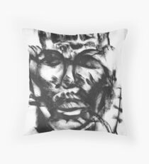 THE NIGTHMARE OF ME Throw Pillow
