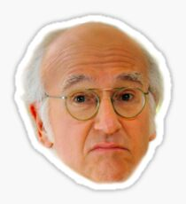 Larry David Sticker