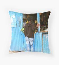 Ethiopia art Throw Pillow