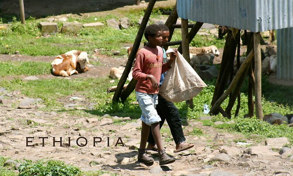 Ethiopia art 5 by Kelly Putty